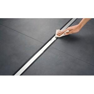 Решетка для душевого канала Geberit CleanLine20 тёмный/матовый металл, L30-130 см 154.451.00.1