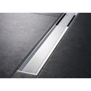 Решетка для душевого канала Geberit CleanLine20 пол/матовый металл, L30-130 см 154.451.KS.1