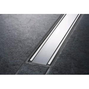 Решетка для душевого канала Geberit CleanLine60 пол/матовый металл, L30-130 см 154.457.KS.1