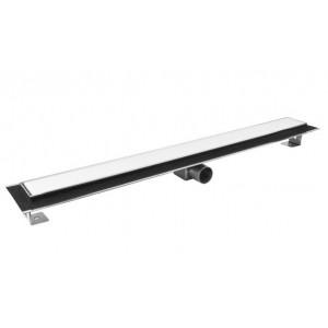 Душевой канал Inox Style с решеткой Белое стекло 1085 мм L108507WG