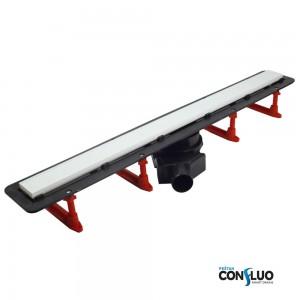 Душовий канал Pestan Confluo Frameless 750 мм, біле скло 13701214