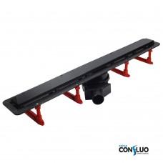 Душевой канал Pestan Confluo Frameless 750 мм, чёрное стекло 13701205