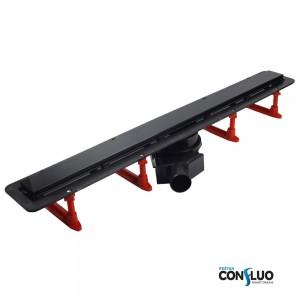 Душовий канал Pestan Confluo Frameless 750 мм, чорне скло 13701205