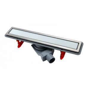 Душевой канал Pestan Confluo Premium Line с решеткой из стекла White Glass 550 мм 13000282